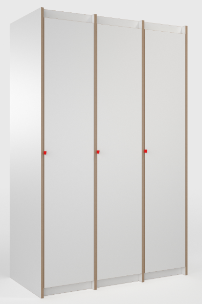 Tojo-Tojo Schränke-Designer Schrank Tojo-steh Grundmodul + 2x Anbaumodul, MDF weiß.jpg